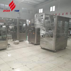 China Beverage Bottle Sleeve Labeling Machine , Water Bottle Packing Machine Shrinking on sale