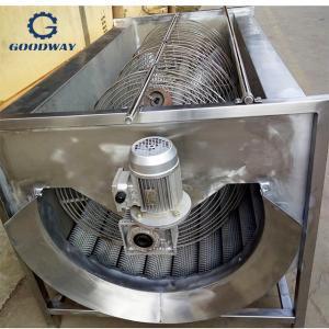 China 380V  6tons/Hour Potato Washing And Peeling Machine on sale