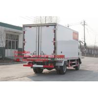 Sinotruk Howo7 10T Refrigerator Freezer Truck 4x2 For Meat And Milk Transport Manufactures