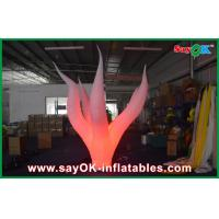 3 M Large Inflatable Led Lighting Ground Oxford Cloth Promote Manufactures