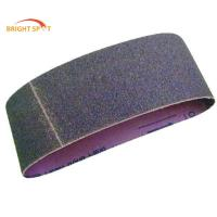 Red Black Diamond Grit Sanding BeltsWith Aluminum Oxide / Silicon Carbide Grain Manufactures