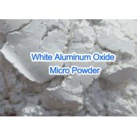 China White Pure Aluminum Oxide Micro Powder , Super Fine Grit Aluminum Oxide on sale