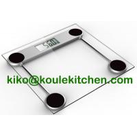 China Electronic Body Weight Scale, Cheap Glass digital Bathroom Scales on sale