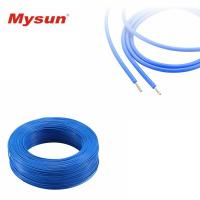 Home Appliances Silicone Rubber Insulated Wire AWM 3130 Nickel Copper Conductor Manufactures
