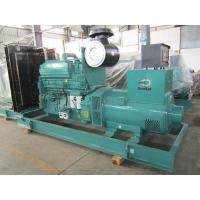 China Green Color  Cummins Diesel Generator KTA19-G4  400KW / 500 Kva Genset on sale