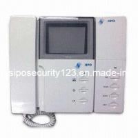 Video Door Phone With Image Recorder Storing 1000 Color Pictures (SIPO-823-223) Manufactures