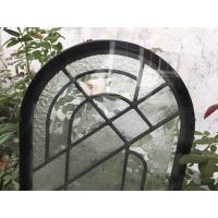 Round Top Architectural Decorative Panel Glass , Solid Flat Tempered Glass Panels Manufactures