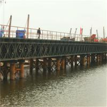 Hot Dip Galvanized Floating Pontoon Bridge Bailey Type Temporary Road Bridge Manufactures