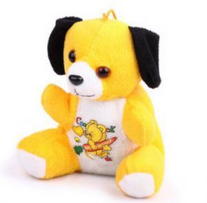 China custom cartoon dog doll, cute plush toy lovely stuffed toy ,holder pillow on sale
