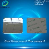 Wide Angle Field Optical PMMA Plastic Reflecting Fresnel Lens for ATM Bank Window, Security other field Rearvie 50X50mm Manufactures