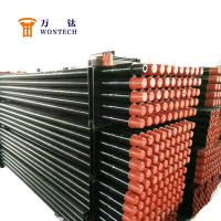 Deep Foundation Drilling Oil Drilling Pipe , Drill Stem Pipe Long Life Span Manufactures