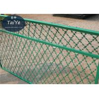High Security Welded Razor Wire Mesh Straight Blade Razor Ribbon Fencing Manufactures