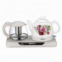 China Electric Kettle and Tea Maker Set with 1,200W Power on sale