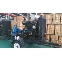 Trailer Diesel Water Pump Set With Cummins Diesel Engines For Agriculture irrigation Manufactures