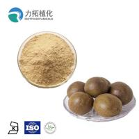 China Herbal Plant Extract Powder Monk Fruit Powder Sweetener Fruit Part Pharmaceutical Grade on sale