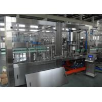 Quality Glass Bottle Beverage Production Line , Juice Production Machine/ Line ISO Marked for sale