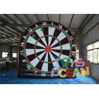 PVC Inflatable Sport Game Inflatable Football Toss Game Throwing Target Manufactures