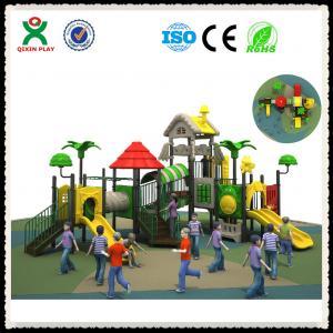 China Playground Equipment Plastic Outdoor Playground Whosale QX-017B Manufactures