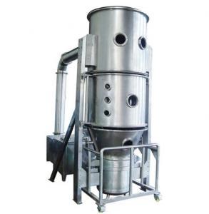 Pharmaceutical Fluid Bed Dryer Fluidized Bed Granulator Machine 670L Volume Manufactures