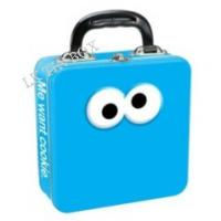 Food Grade Metal Mini Lunch Tin Box Container Glossy Varnish For Christmas Toys Manufactures