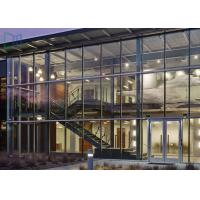 High Strength Lightweight Aluminum Glass Curtain Wall Corrosion Resistant Manufactures
