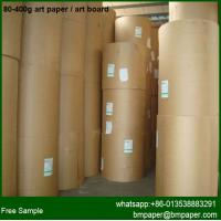 Quality c2s coated 170gsm 200gsm 250gram Gloss Art Paper / art card for sale