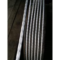 Cold Drawing 1 19 Inch Galvanized Stay Wire , Low Rotation Guide Wire Or Guy Wire Manufactures