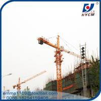 Boom 55 Meter Tower Crane 45m Free Standing Height Tower Kren Manufactures