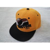 China Personalized Cotton Strap Back Caps With Metal Buckle, 3d Embroidery Sports Snapback Hats For Kids on sale