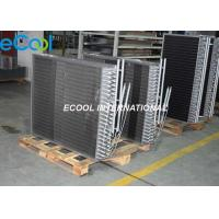 Dry Cooler Finned Coil Heat Exchanger , SS Refrigeration Heat Exchanger Manufactures