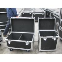 Plywoods / Aluminum Rack Flight Case Black Color With Stackable Ball Corners Manufactures