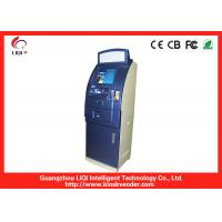 China Water-proof 19 / 17 Bill Payment Kiosk For Bank , Cash Coin Payment Kiosk on sale