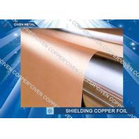 High bendability Rolled Copper Shielding Foil Shielding for CCL , FCCL , PCB Manufactures