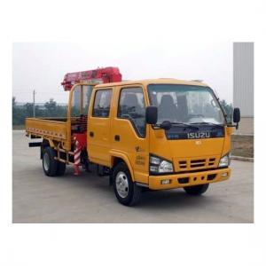 3.2 Ton Isuzu truck with crane Manufactures