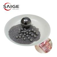 China AISI316 5.953mm 6mm Steel Ball , Stainless Steel Mixing Balls For Nail Polish on sale