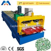 Trapezoidal Profile Roll Forming Machine With PLC Control System Manufactures