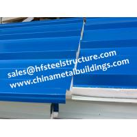 Chinese Design EPS Sandwich Panels For Walk In Cold Room 1150 Width Manufactures