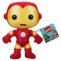 Red / Yellow Small Marvel Comics Iron Man Stuffed Toy For Decoration Manufactures