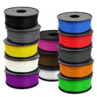 Eco - Friendly Colorful 1.75mm ABS 3D Printer Filament MakerBot / RepRap Manufactures