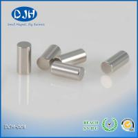 Earth Magnet Composite Permanent Neodymium Magnets Cylinder For Electronic N42 NI Manufactures