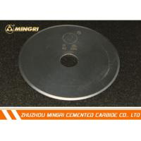 Carbide Knives tungsten carbide circle blade for non-ferrous metals industries Manufactures