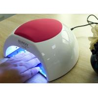 China Unique Low Heat Led Gel Nail Lamp , Electric Infrared Gel Nail Machine 365 + 405nm on sale