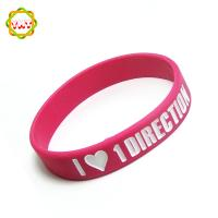 custom silicone rubber bracelet,high quality wristband,silicone wristband,silicone bracelet Manufactures