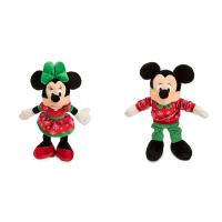 Disney Christmas Mickey Mouse and Minnie Mouse Red and Green Manufactures