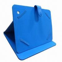 Leather Case for iPad Mini, Kindle Fire and Samsung Galaxy Tab2 Manufactures