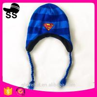 China 2017 new style YIWU 16*17cm 107g 100% Polyester Animal Beanies cap Monste Critter Pokemon Winter earflap hats on sale