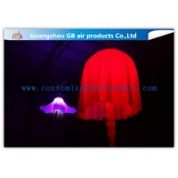China Colorful Jellyfish Led Inflatable Lighting Decoration For Outdoor Christmas wholesale