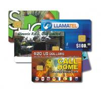 High quality printing card with chip SLE5542 contact card Manufactures