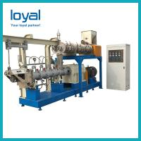 Canned pet food production line animal feed pellet machine to make dog biscuit Manufactures