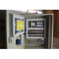 Metal Cabinet Programmable Logic Control Panel , Range From 0.75-250kw Manufactures